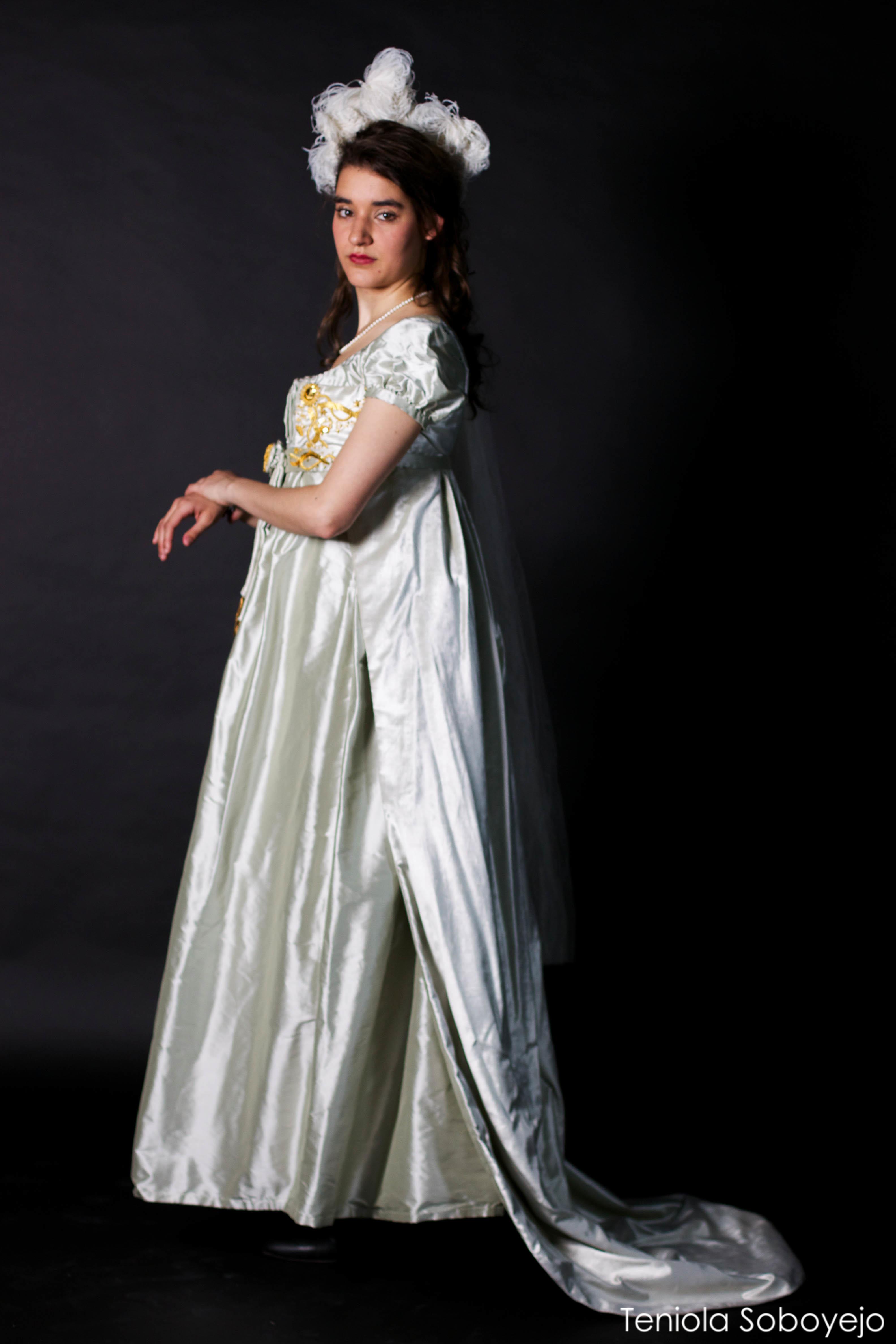 Regency Gown Louise : Samira Khadraoui